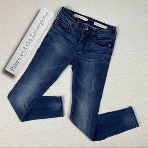 Pilcro by Anthropologie High Rise Skinny Jeans